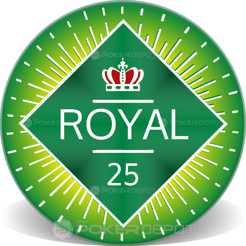 Royal Crown Ceramic Chips - Back