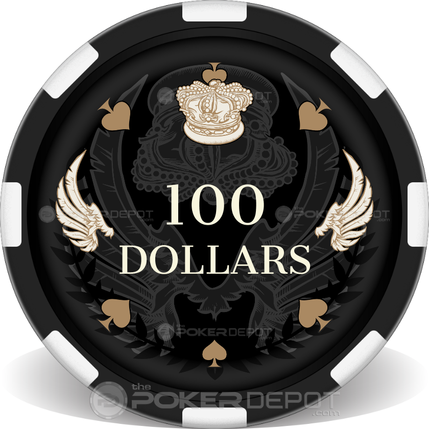 Royal Wings Poker Chips - Front