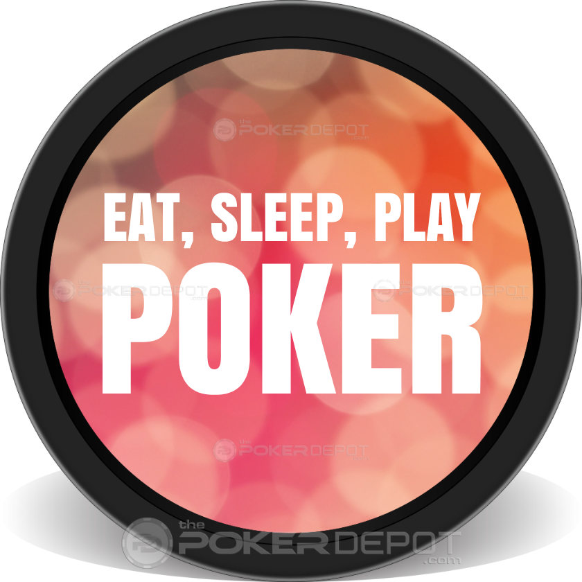 EAT, SLEEP, PLAY POKER - Back