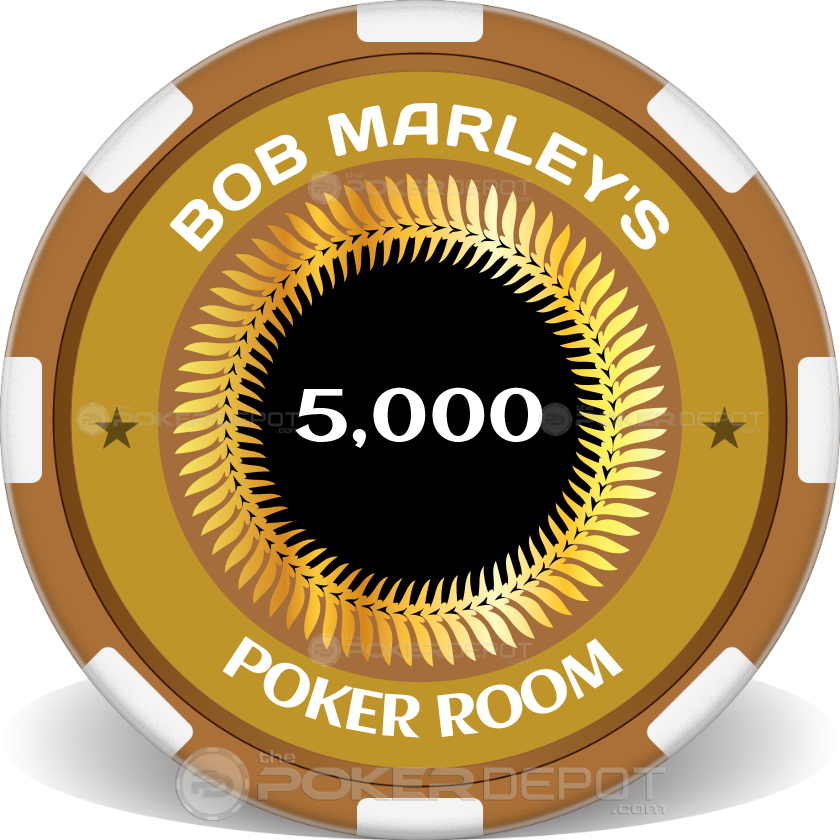 Man Cave Poker Room Chips - Main