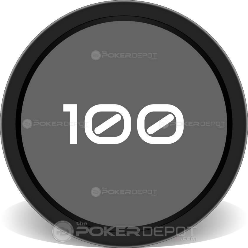 Billiard Set Poker Chips - Back