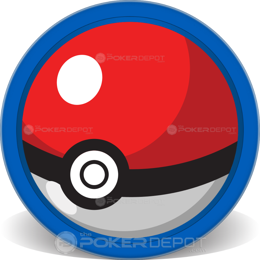 Pokemon Team Poker Chips - Main