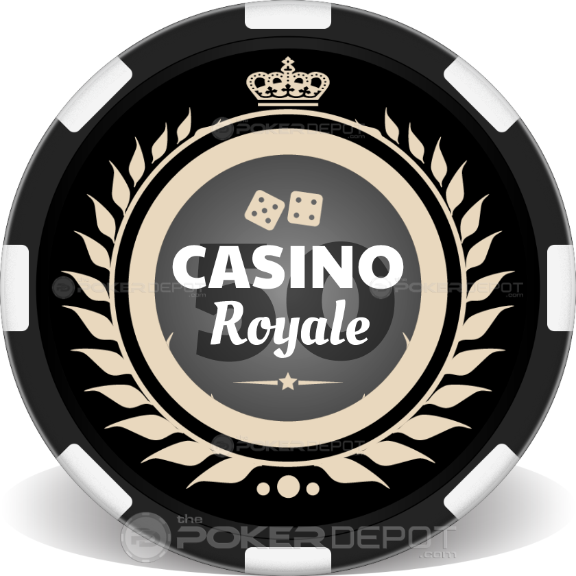 Crown Royal Poker Chip - Back