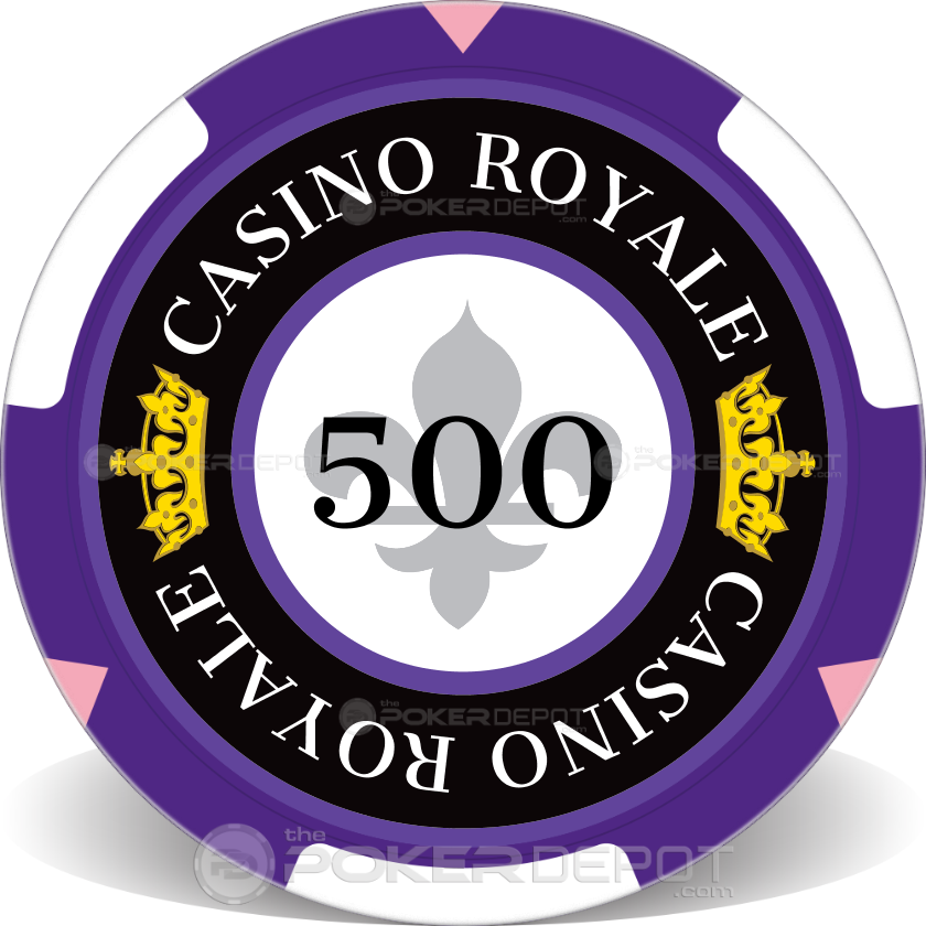 Casino Royale Poker Chip - Front