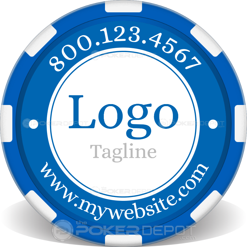Custom Logo Poker Chip - Main