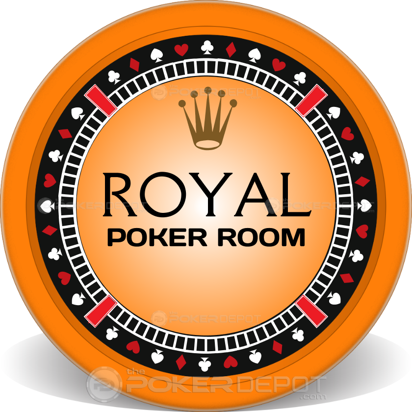 Royal Poker Suits Chips - Main