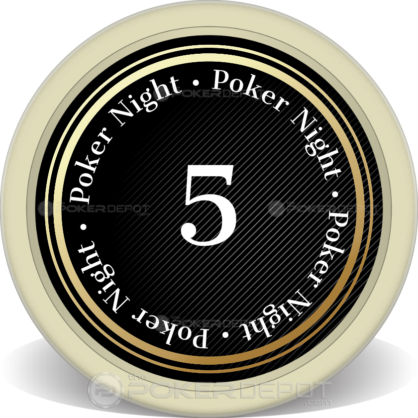 Spade Grad Night Poker Chip - Main