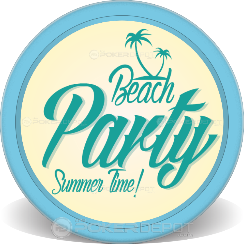Summer Party Poker Chips - Main