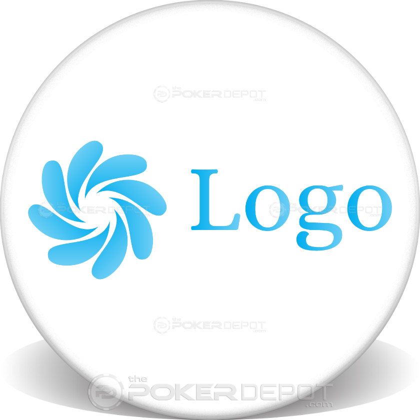 Custom Logo Ceramic Chip - Front