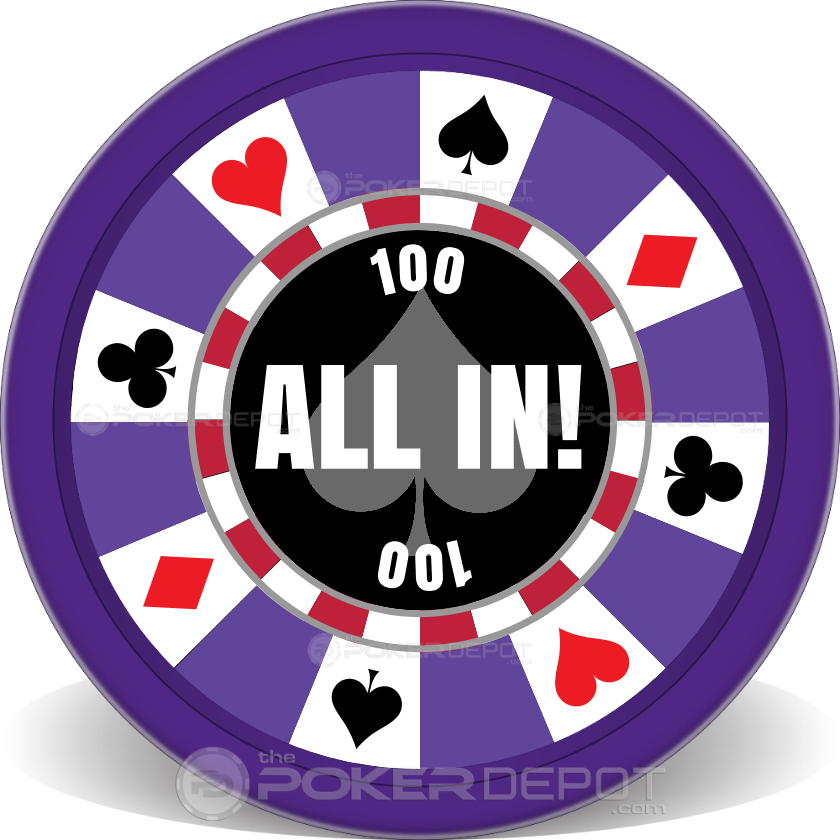 Ring of Suits Poker Chips - Main
