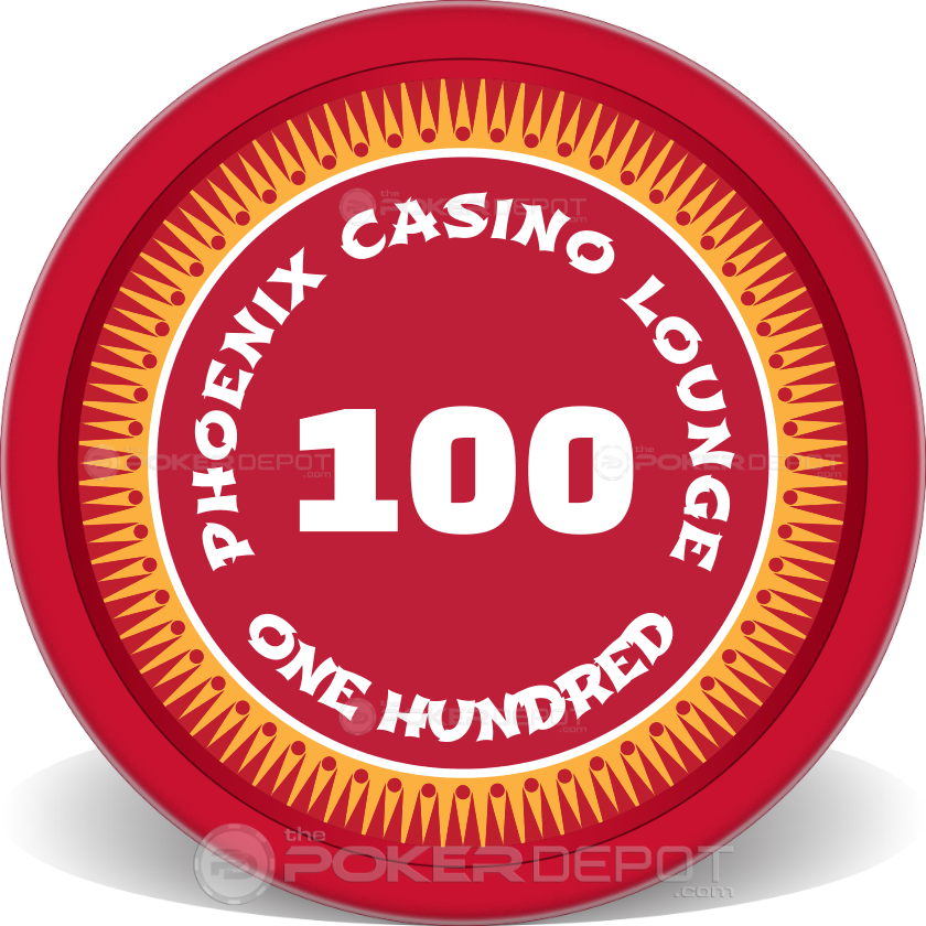 Phoenix Poker Chips - Back