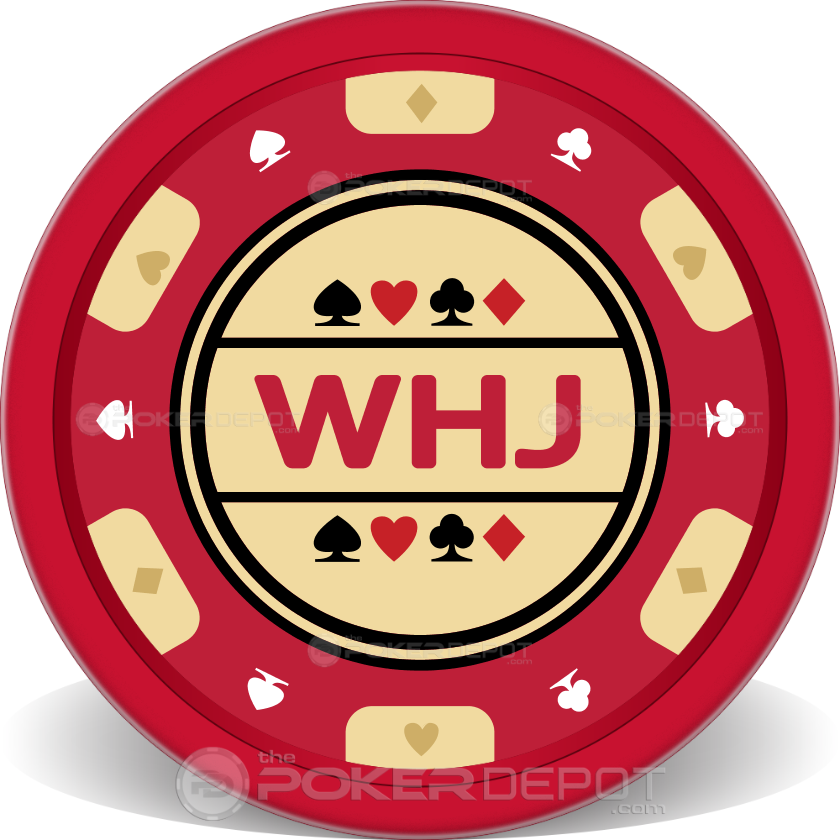 Traditional Poker Chip - Back
