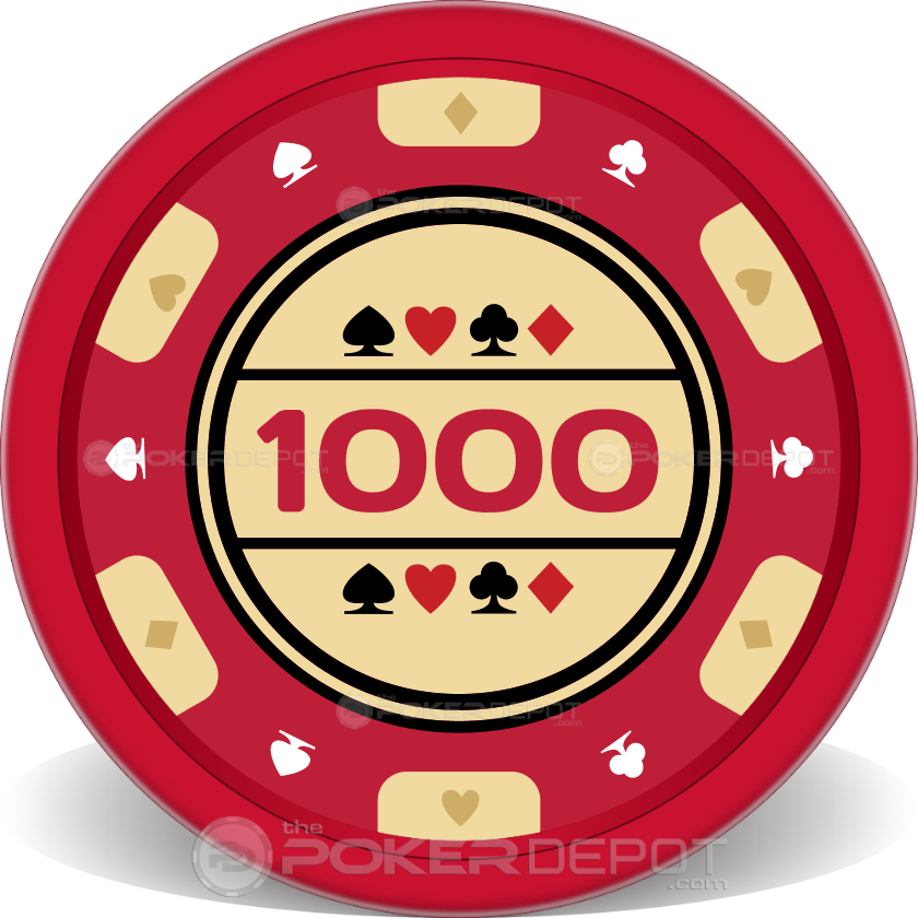 Traditional Poker Chip - Main