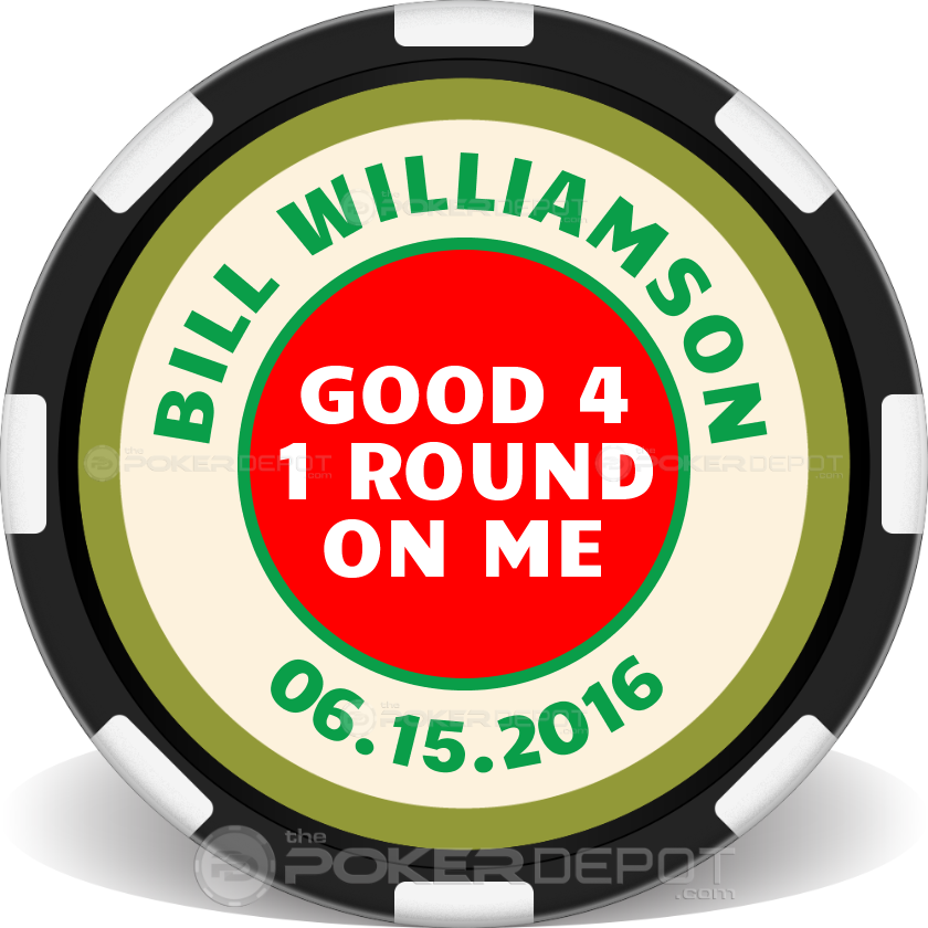 Hole In One Poker Chip - Main
