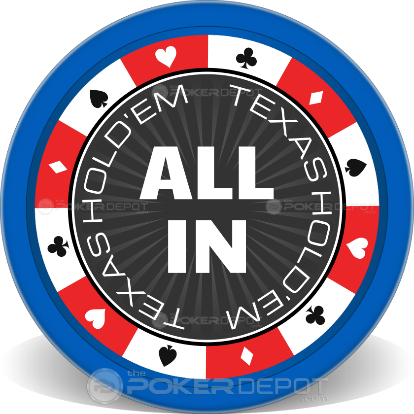 Suits Border Poker Chips - Main