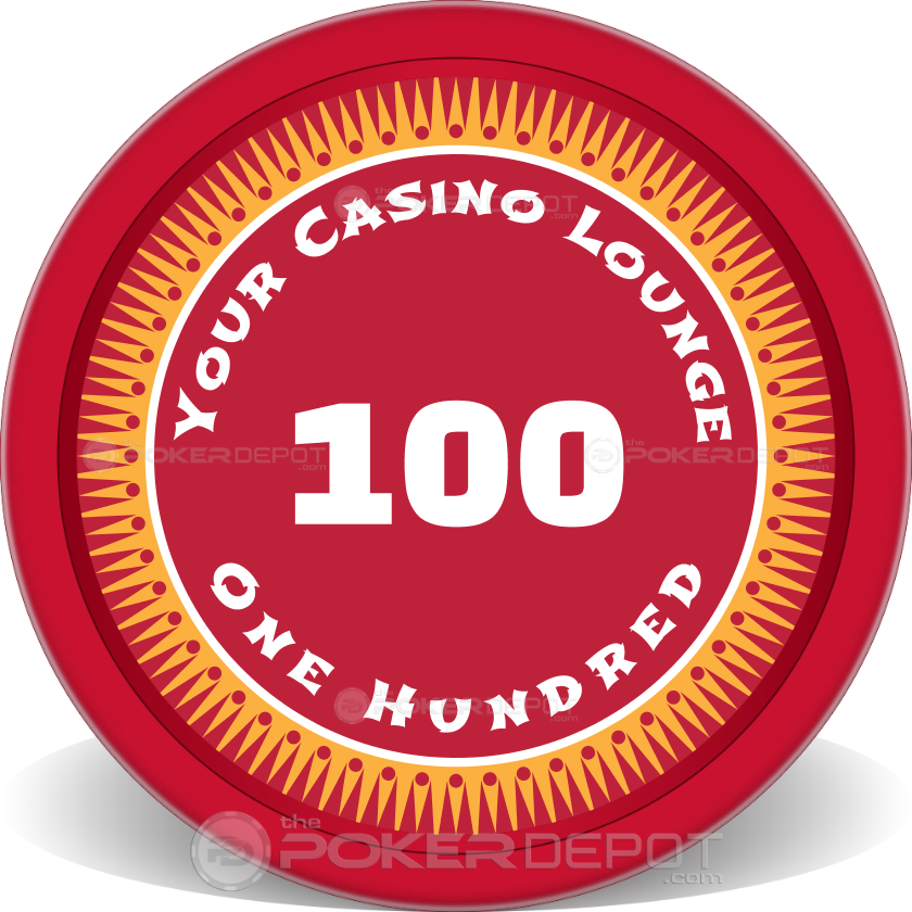 Your Casino Poker Chips - Back