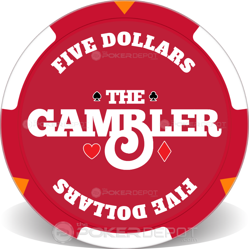 The Gambler Poker Chip Set - Chip 2