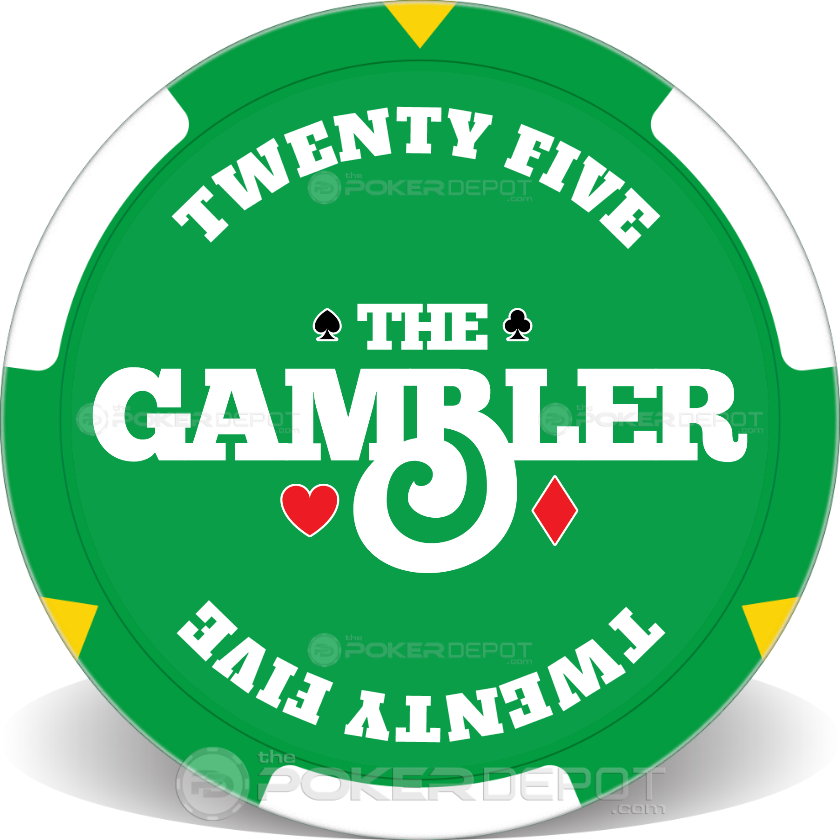 The Gambler Poker Chip Set - Chip 3