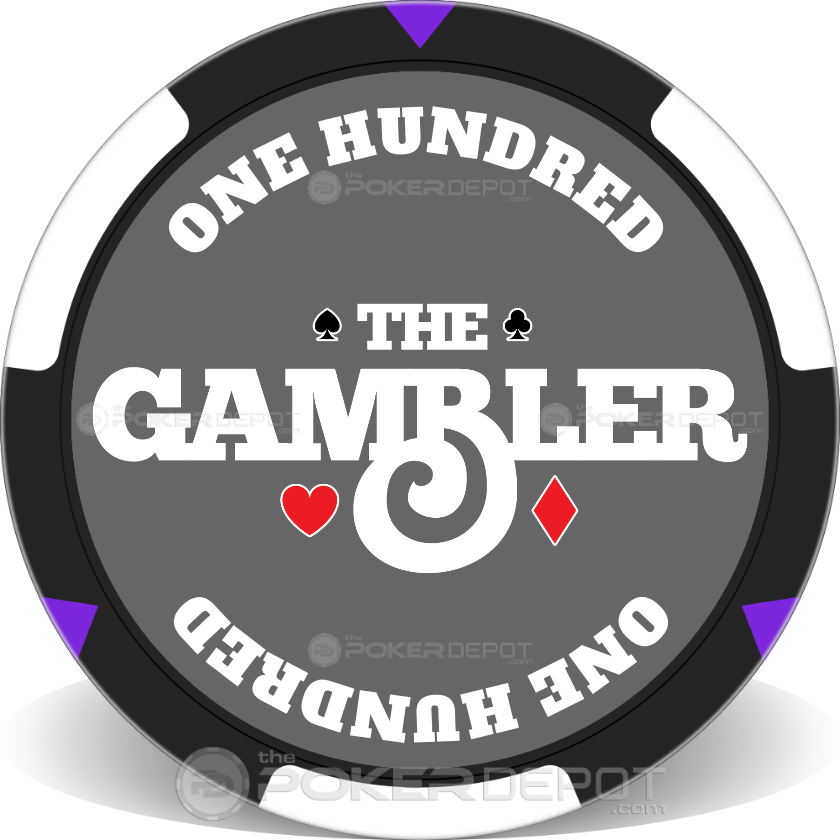 The Gambler Poker Chip Set - Chip 4
