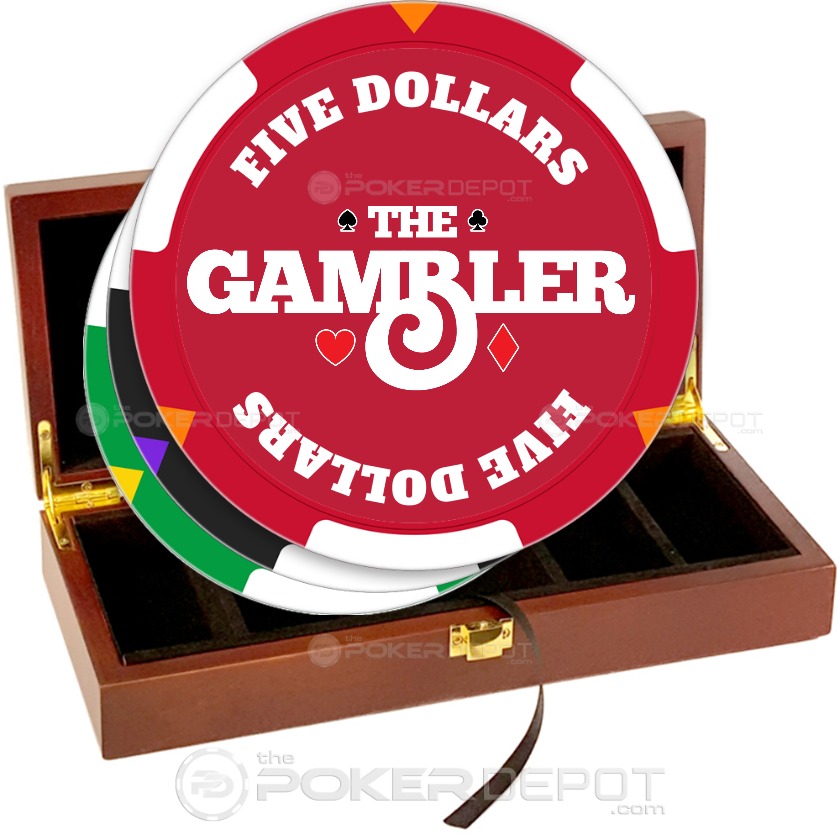 The Gambler Poker Chip Set - Main