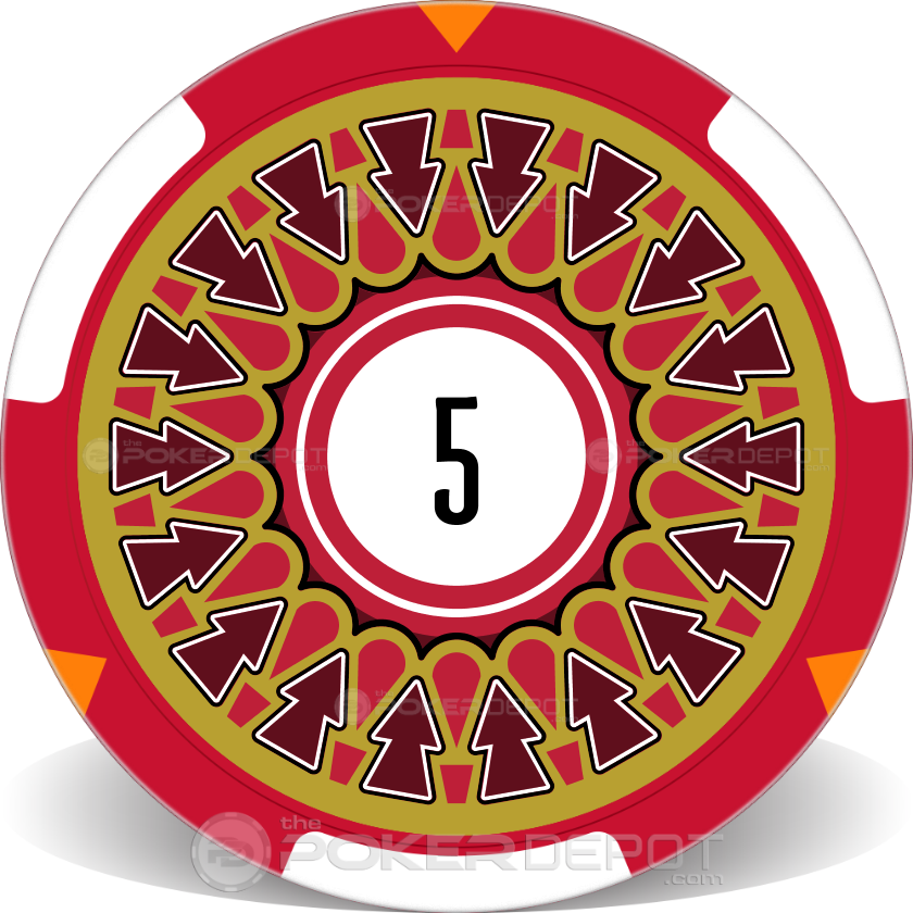 Exclamation Poker Chip Set - Chip 2