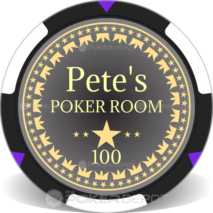 Build Your Own Poker Chip Set - Chip 3