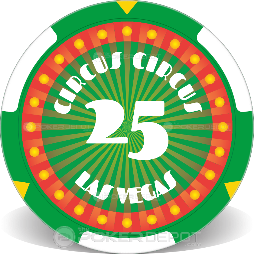 Circus Style Poker Chip Set - Chip 2