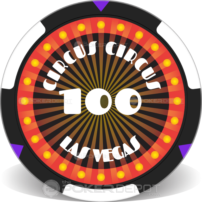 Circus Style Poker Chip Set - Chip 3