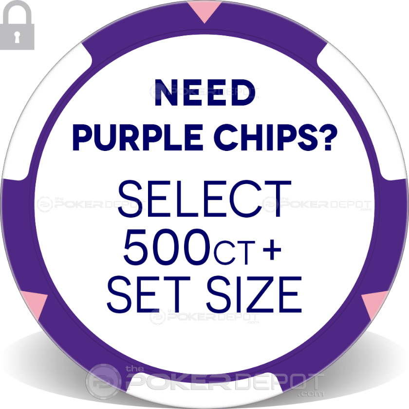 Ring of Suits Poker Chip Set - Chip 4