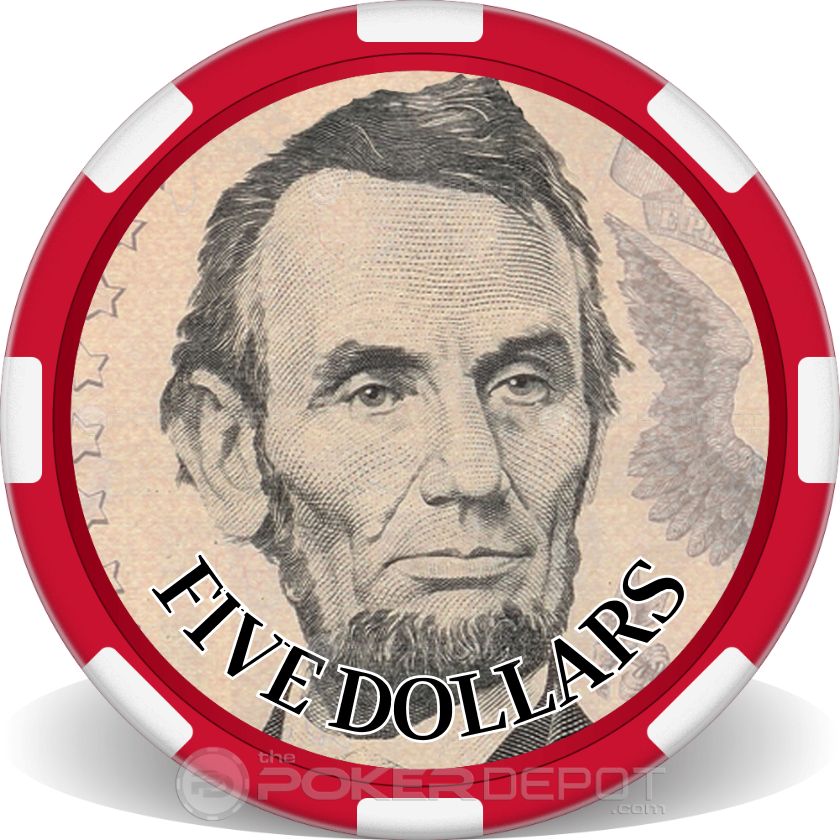 US Currency Poker Chip Set - Main