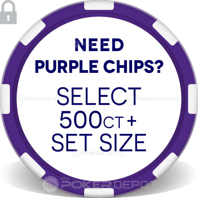Circus Style Poker Chip Set - Chip 4