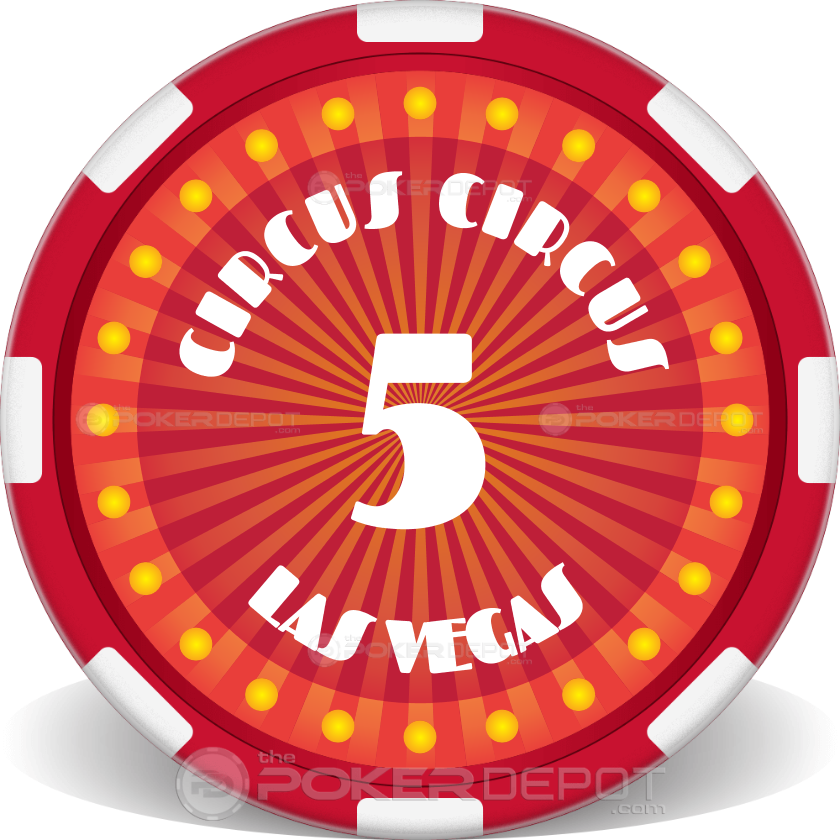 Circus Style Poker Chip Set - Main