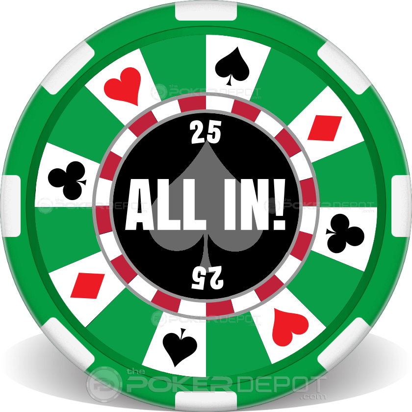Ring of Suits Poker Chip Set - Chip 2