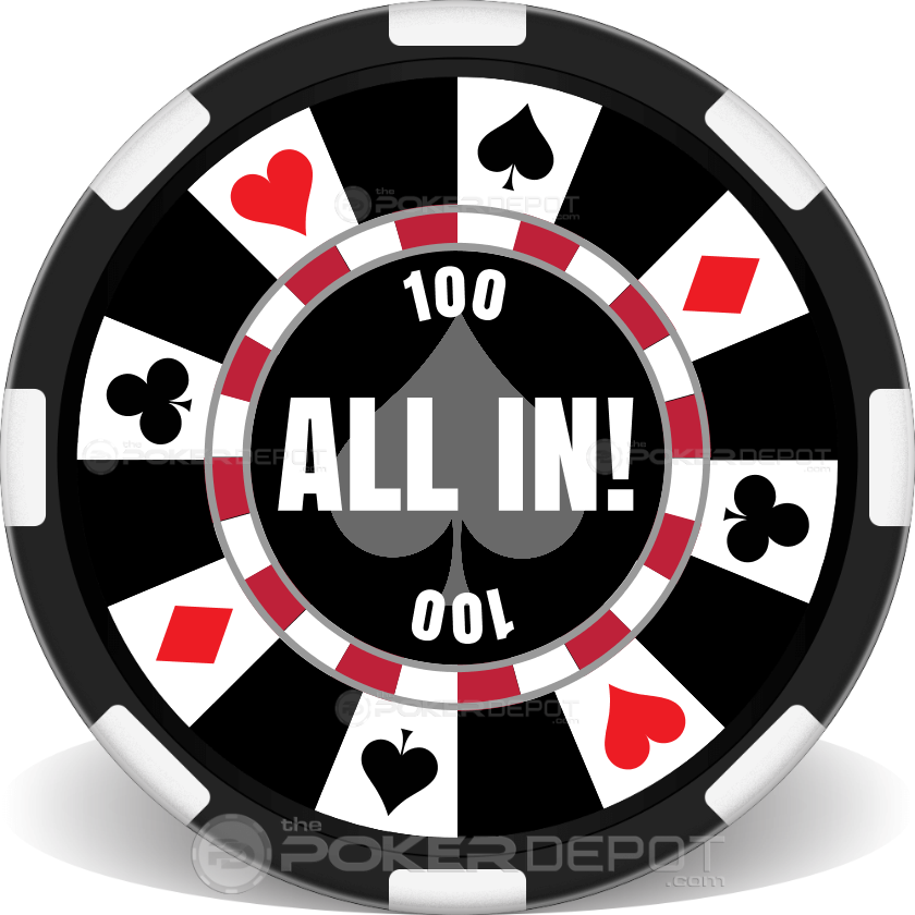 Ring of Suits Poker Chip Set - Chip 3