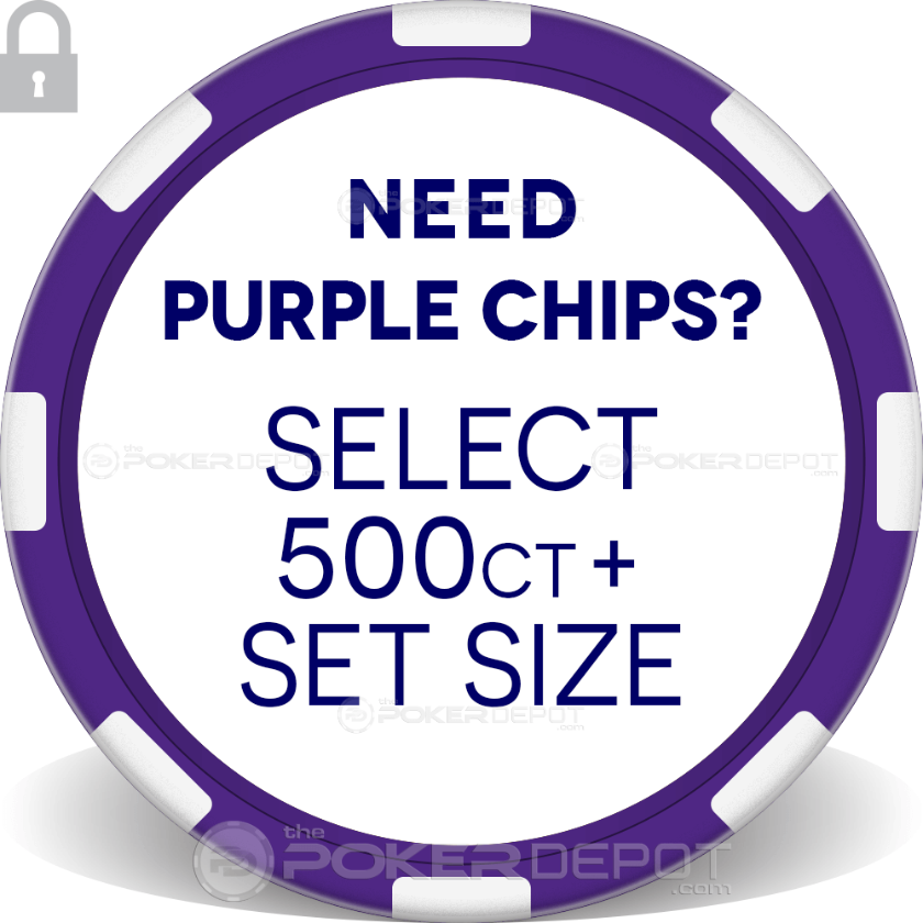 Exclamation Poker Chip Set - Chip 4