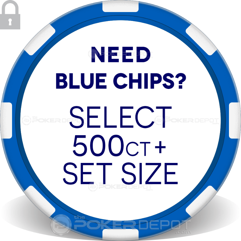 Exclamation Poker Chip Set - Chip 5