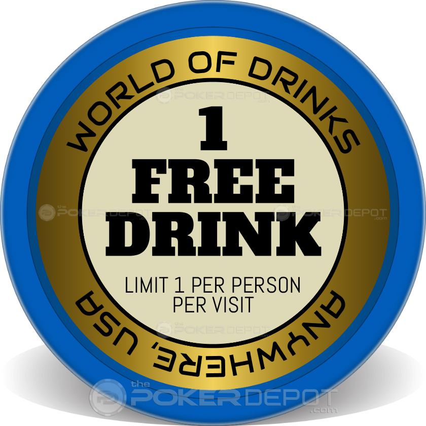 1 Free Drink - Front