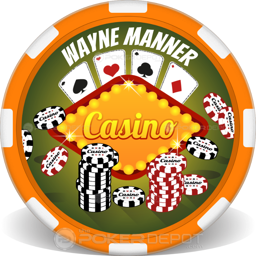 Casino Chip Stacks - Front