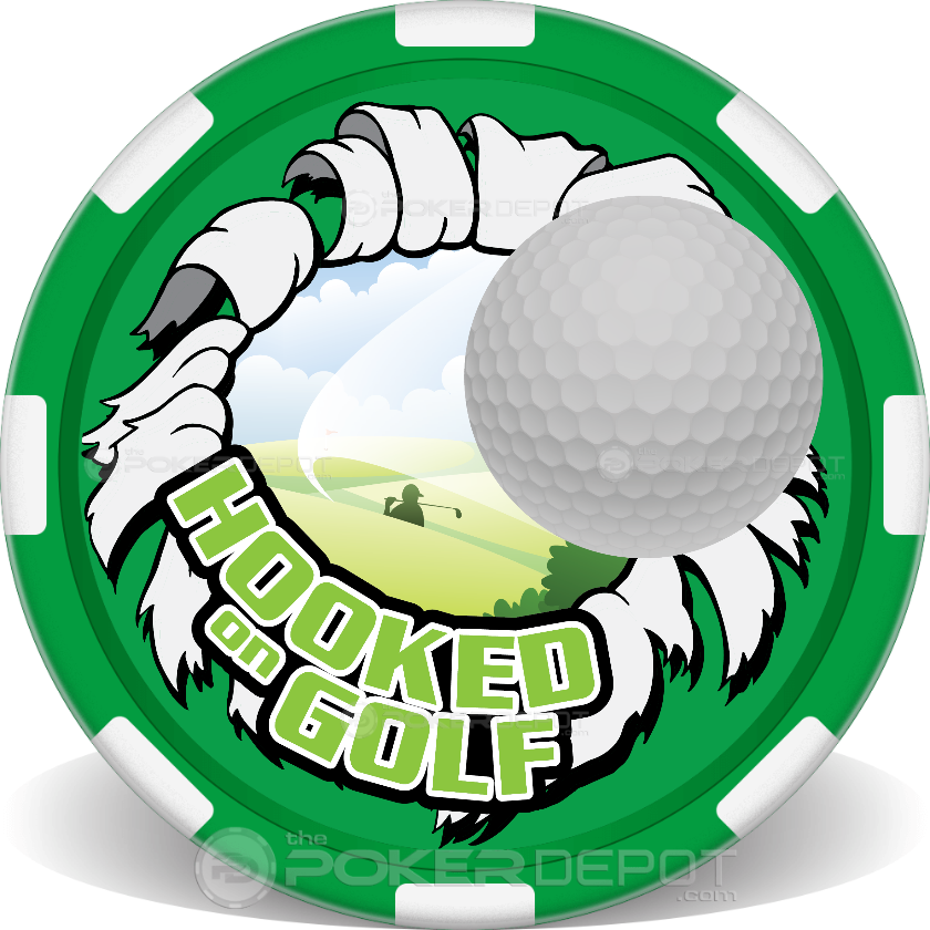 Hooked on Golfing - Back