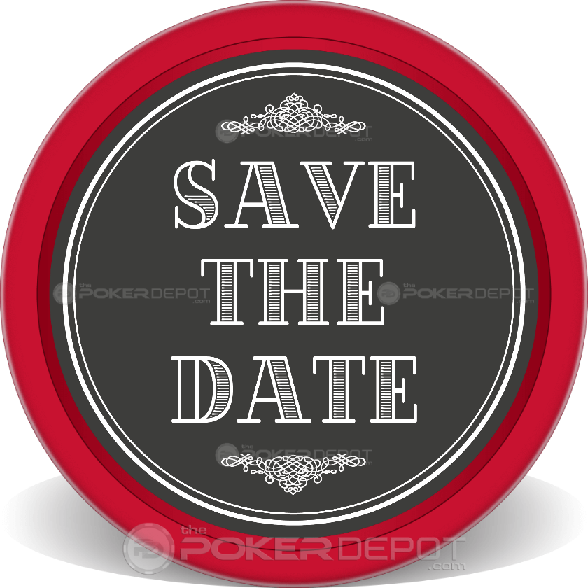 Save The Date Event - Back