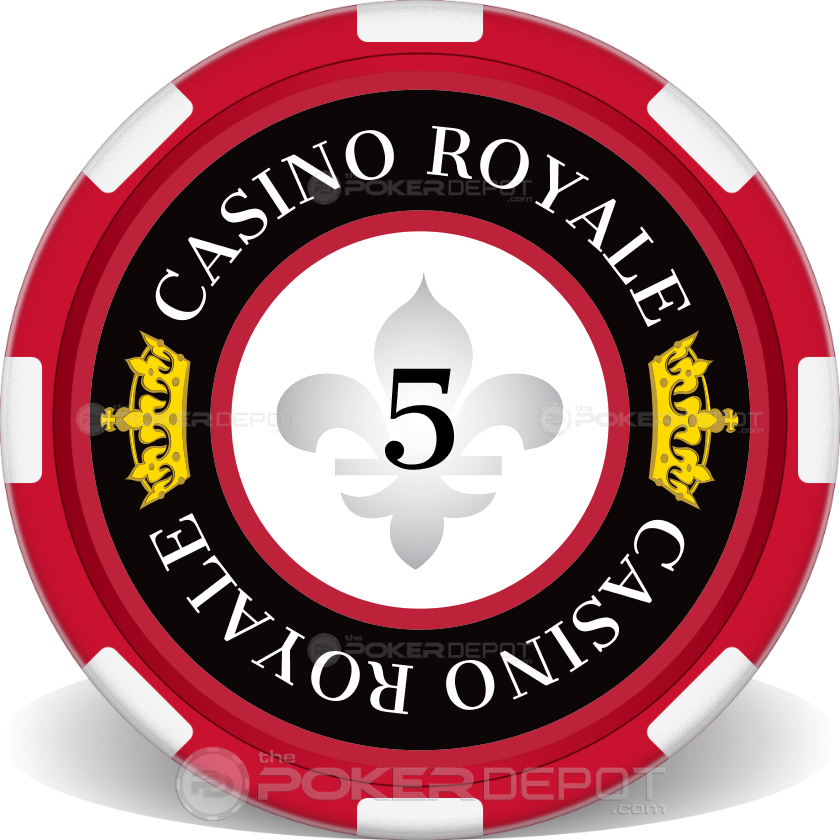 casino royale chip 1 - Clay Poker Chips