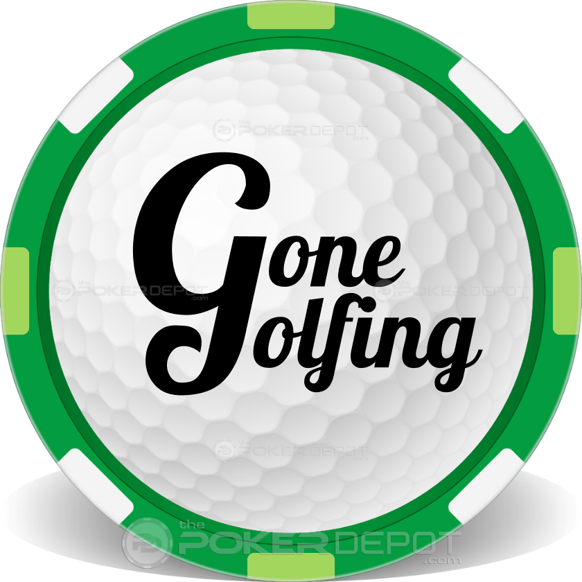 Golf Ball - Back