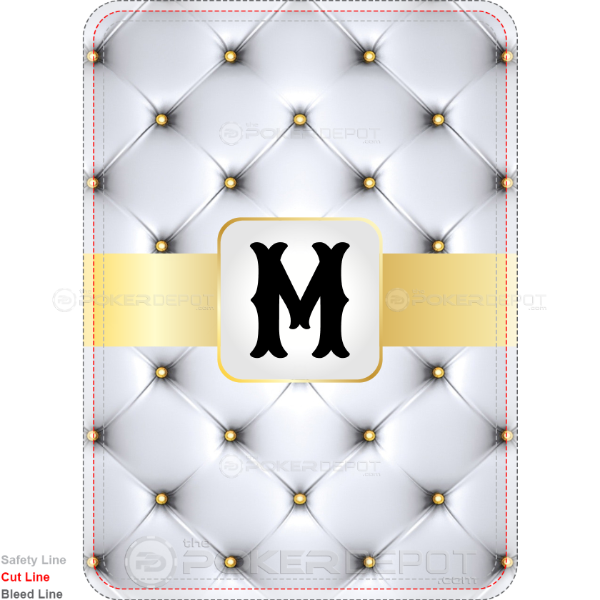 Luxury Monogram - Custom Back