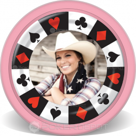 Birthday Party Poker Chips Front