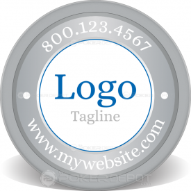 Logo & Slogan Poker Chip