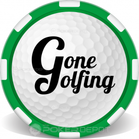 Golf Ball Poker Chip