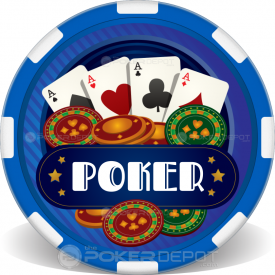 Casino Dice Poker Chips