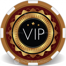 VIP Poker Chips Front
