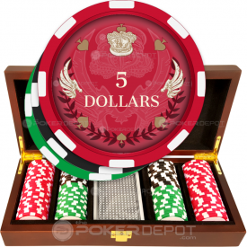 Royal Wings Poker Chip Set