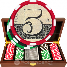 US Dollar Poker Chip Set